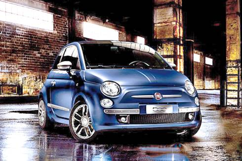 Fiat unveils 500 in cool shades