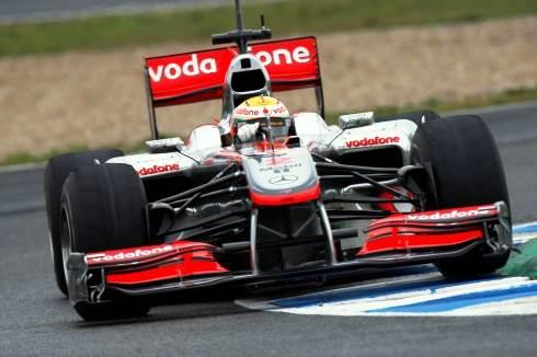 Hamilton tops Jerez test timings