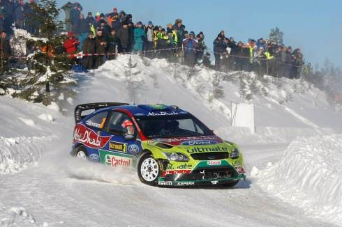 Hirvonen wins in Sweden