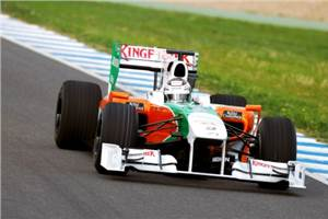Sutil impressed with pace