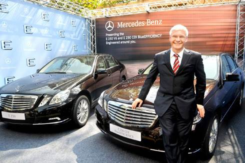 Merc India CEO - Dr. Aulbur leaves