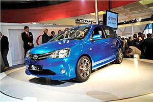 Etios key for Toyota in India