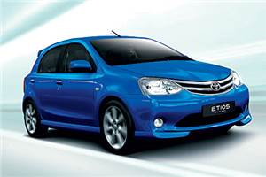 Toyota expects Etios to boost sales