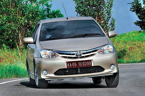 Toyota Etios test drive, review