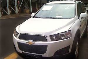 New Chevrolet Captiva spied