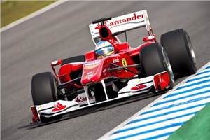 Alonso loves new Ferrari