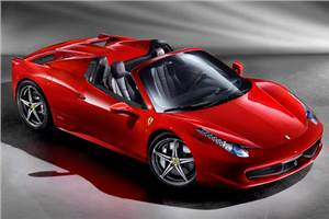 Hard-top for Ferrari 458 Spider