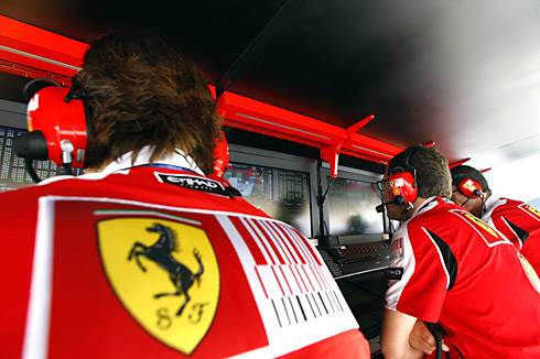Ferrari reshuffles staff