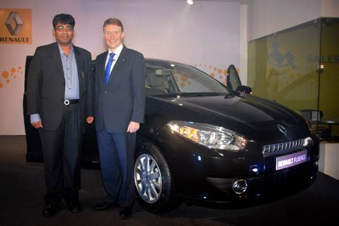 Renault Fluence launched in Mumbai
