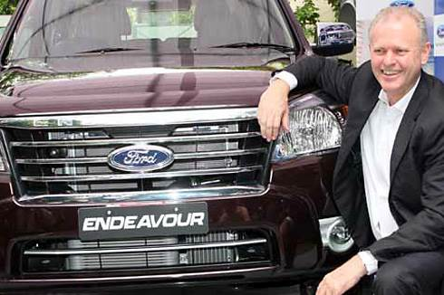 Ford unveils Endeavour 4x2 AT