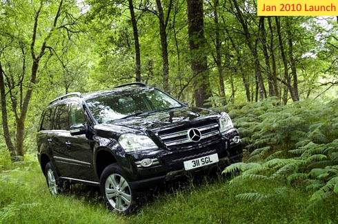 Mercedes-GL to arrive in India