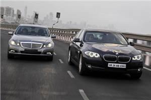 BMW 525d vs Mercedes E250 CDI