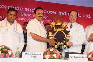Honda inaugurates third two-wheeler plant