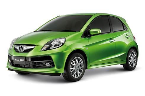 Honda showcases small car Brio