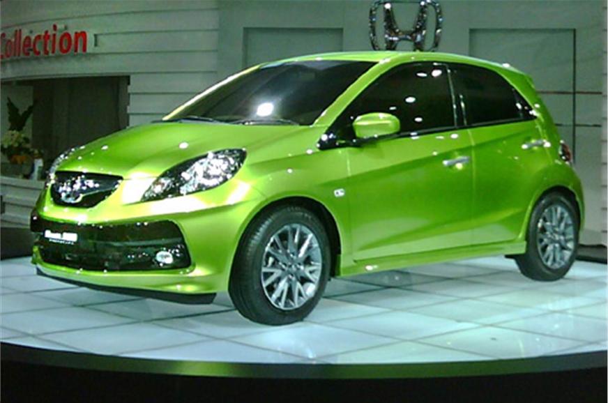 Honda brio review test drive autocar india for Honda brio price in india