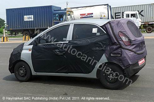 New spy pictures of Hyundai HA