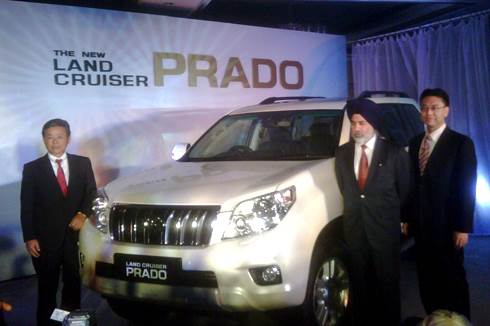 New Land Cruiser Prado launched