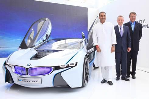 BMW India unveils hybrid concept