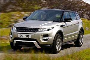 Evoque India launch by end-2011