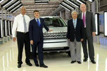JLR India assembly line commences