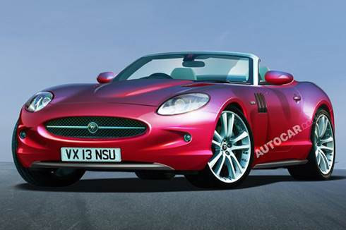 New sports Jag to rival Boxster