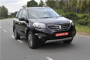 Renault Koleos review, test drive