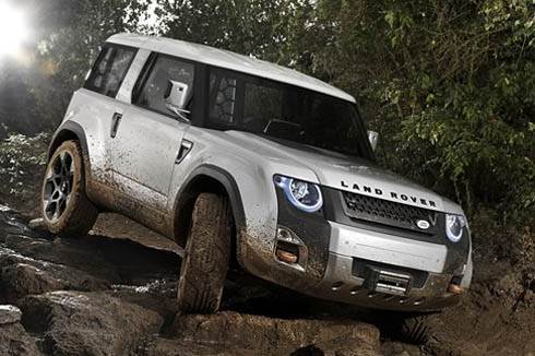 Land Rover reveals DC100 concept