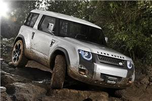 Land Rover reveals DC100 concept