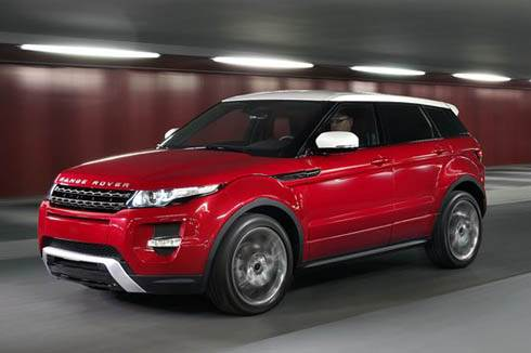 Range Rover Evoque 5dr unveiled