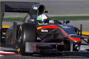 Liuzzi to team up with Narain at HRT