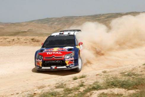 Loeb wins Rally Jordan