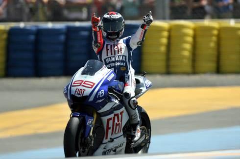 Lorenzo wins at Le Mans