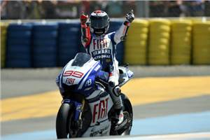 Lorenzo wins at Le Mans