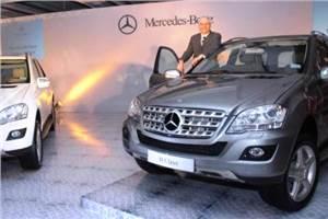 Mercedes launches M-class 2010