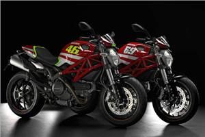 Ducati's MotoGP replica Monsters
