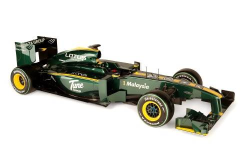 Lotus 2010 car unveiled