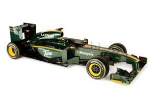 Lotus 2010 car unveiled