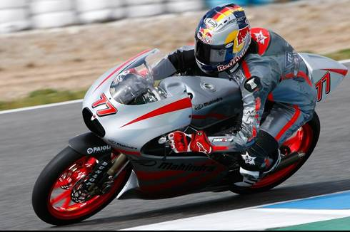 Mahindra scores points at MotoGP