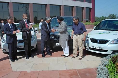Maruti unveils SX4 hybrid, Eeco EV