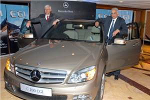 Mercedes-Benz launches C200 CGI