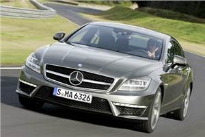 Mercedes CLS 63 testdrive, review