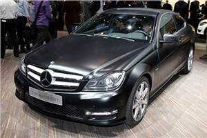 Mercedes C-class facelift unveiled