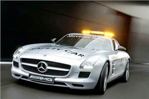SLS is new F1 Safety car