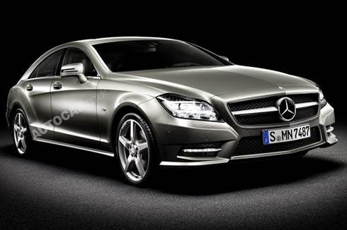 New Mercedes CLS revealed
