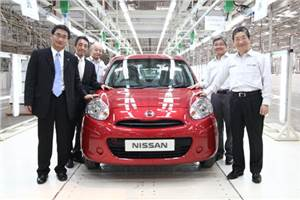 Nissan starts Micra production