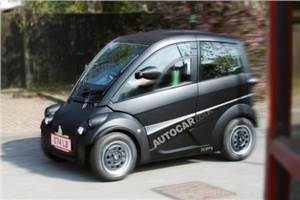 Murray T25 city car spotted