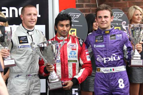 Narain triumphs at Brands Hatch