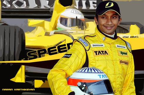Karthikeyan back in F1!