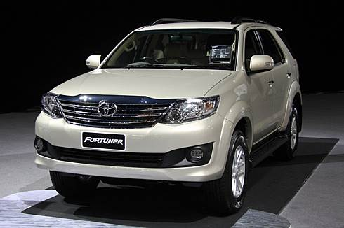 Toyota Fortuner facelift unveiled