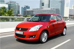 New Suzuki Swift test drive
